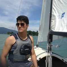 Water Sport / Sailing on Tegernsee, Germany. I missed Sailing so much,... .  #WaterSport #Sailing #soaring #yachting #boating #Tegernsee #Germany #Windy #breezy #drafty #fast #Lake #Sport #Sports #crazy #freaky #sunglasses #Familyday #longtime #ImissedIt #ReinGutierrez