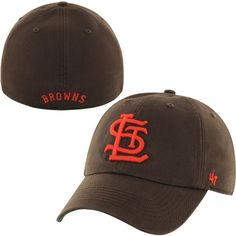 b2294417bda 47 Brand St. Louis Browns Brown 1946 Franchise Cooperstown Fitted Hat  Sports Uniforms