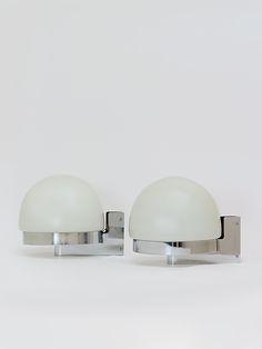 Aplique de pared diseñado por André Ricard en 1971 para Metalarte - Decoración y Objetos Vintage   VOM Gallery