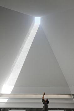 Interior | Galeria | Casa das Histórias - Paula Rego #skyspaces #architecture…