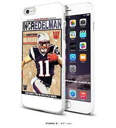 NFL New England Patriots Edelman , Cool iPhone 6 - 4.7 Inch Smartphone Case Cover Collector iphone TPU Rubber Case White [By PhoneAholic] Phoneaholic http://www.amazon.com/dp/B00XYAYI9M/ref=cm_sw_r_pi_dp_.yFxvb1096B1S