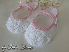 Free Easy Crochet Baby Girl Bootie