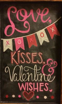 Home Decor Ideas Valentine chalkboard art. Valentine Home Decor Ideas on Frugal Coupon Living. Valentine Home Decor Ideas on Frugal Coupon Living. Valentines Day Sayings, Valentine Wishes, Valentine Day Love, Valentine Messages, Diy Valentine, Valentine Sayings, Chalkboard Writing, Chalkboard Lettering, Chalkboard Designs