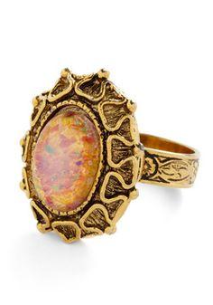 Vintage Sparkle Squad Ring, #ModCloth