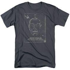 Star Trek Join The Search Spock Men's T Shirt