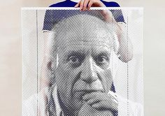 Amazing Paper Portraits by Yoo Hyun | Inspiration Grid | Design Inspiration