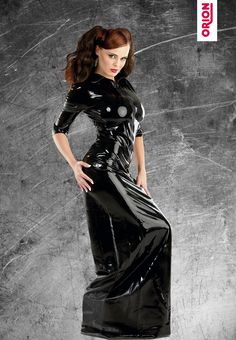 Latex Kleide #Latex #Kleid #Lang #Sexy #ORION