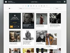 Dashboard Content Page