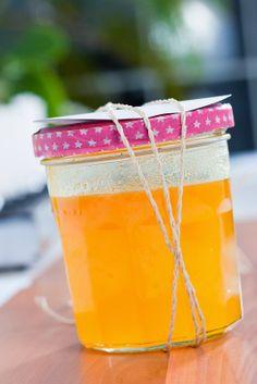 Glücksfinder - Orangensirup selbstgemacht. Das perfekte Ostergeschenk!