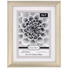 Special Moments Double-Matted Silver Plastic Photo Frame, 5x7-in.