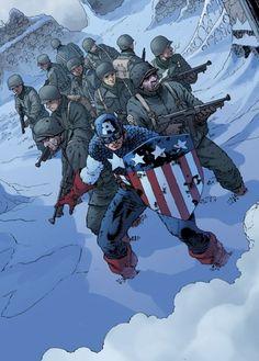 Captain America with a shield shaped shield :) Arte Dc Comics, Marvel Comics Art, Bd Comics, Marvel Heroes, Marvel Avengers, Comic Book Characters, Marvel Characters, Comic Books Art, Comic Art