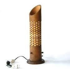 Bamboo Table Lamp Handmade Bamboo Lampshade Asian by CreateitUp Bamboo Crafts, Wood Crafts, Bamboo Light, Bamboo Lamps, Bamboo Architecture, Bamboo Table, Bamboo Design, Bamboo Furniture, Wooden Lamp