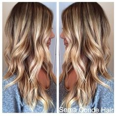 love this color. thinking about darkening my blonde with some low lights