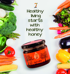 With special antioxidants and nutrients in this honey, it may help keep a check on the sugar levels in the blood, making this an absolute favourite among the diabetics. Buy your honeys now from www.7seeds.in and stay sugar free!  #JamunHoney #AntiOxidants #Nutrients #SugarLevels #Diabetes #SpoonfulOfHoney #StayHealthy #HealthyHoney