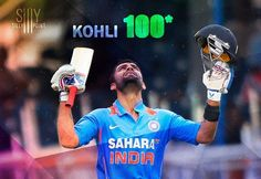 Virat makes his 100 and Raina on fire..... http://www.24by7sportsnews.com/