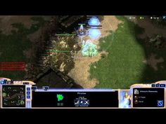 StarCraft 2 Protoss Vs Zerg rush