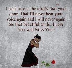 I love you and I miss you, Daddy! Rip Daddy, Miss You Daddy, Miss You Mom, Love You, Missing My Husband, Grieving Quotes, Missing You Quotes, Tu Me Manques, Grief Loss