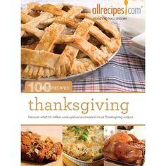 100 best Thanksgiving recipes eBook from allrecipes.com via Kobo