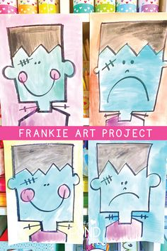 Halloween classroom crafts - Spooky House Drawing Perfect for Halloween – Halloween classroom crafts Kindergarten Art Projects, Kindergarten Fun, Kindergarten Drawing, Halloween Drawings, Halloween Art, Halloween House, Halloween Activities, Art Activities, Activity Ideas