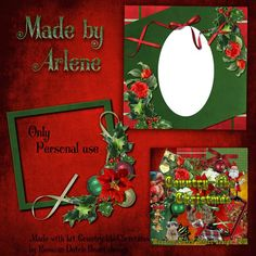 Scrapbooking TammyTags -- TT - Designer - With a Russian-Dutch Heart, TT - Item - Frame, TT - Style - Cluster, TT - Theme - Christmas