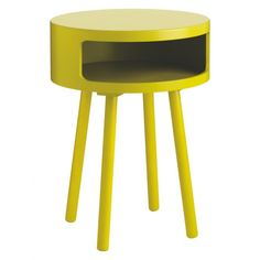 BUMBLE Yellow side table