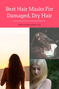 Best Hair Masks For Damaged, Dry Hair, We all enjoy when our hair is shiny, beautiful, and healthy. But unfortunately, this is not always the case...find out more... #best#hair#products