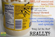 "What's REALLY in that ""real"" mayonnaise? You don't wanna know. (Except you do, so you can stop buying it!!)"