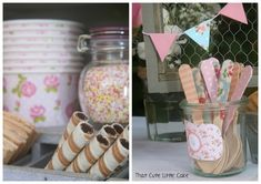 I am so excited to share this adorable party submitted by Virginie of That Cute Little Cake . Virginie's blog is fully of super creative c...