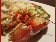 Lobster Recipes, Scampi, Fruits And Vegetables, Shrimp, Seafood, Chicken, Meat, Saint Jacques, Barbecue
