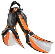 aquabionic 1 - advanced scuba diving fin technology