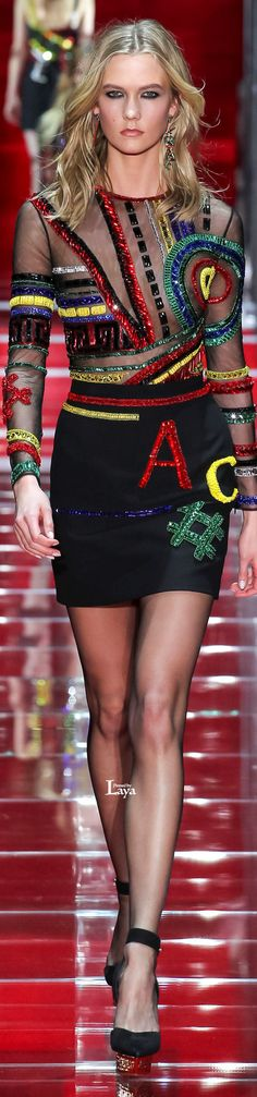 Versace Fall Winter 2015-16 RTW