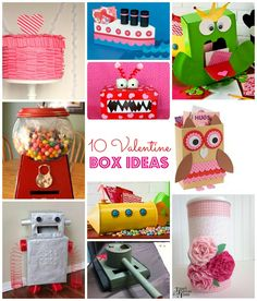 Creative Valentine Box Ideas!