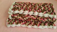 Blanket (soft multicolored baby blanket) - 32 in. x 32 in.
