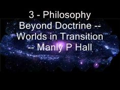 Manly P. Hall - Worlds in Transition