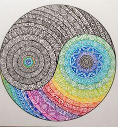 40 Beautiful Mandala Drawing Ideas & How To ? 40 Beautiful Mandala Drawing Information & Ideas Mandala Doodle, Mandala Art Lesson, Mandala Artwork, Mandala Painting, Mandala Sketch, Zen Doodle, Doodle Art Drawing, Mandalas Drawing, Zentangle Drawings