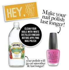 Anyone can have a perfect DIY manicure if you know a few manicure hacks. Keep reading to learn the secret of beautiful nails with these DIY manicure hacks! Do It Yourself Nails, How To Do Nails, Manicure At Home, Manicure And Pedicure, Manicure Ideas, Pedicures, Diy Nails At Home, Essie, Nagel Hacks