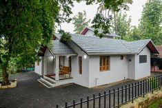 Single Floor House Design, Modern Small House Design, Dream Home Design, Village House Design, Kerala House Design, Village Houses, Home Building Design, Building A House, Modern Architectural Styles