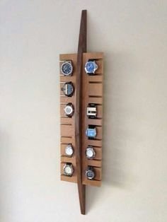 Decorate with old watches