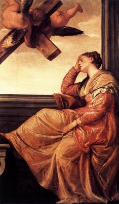 The Vision of St. Helena | Paolo Veronese | 1560-65 | oil on canvas | 77 3/4 x 45 1/2 in | National Gallery, London, UK