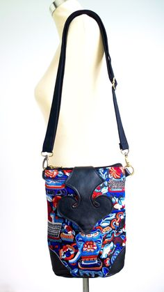 Ethnic Leather Crossbody Bag Available at PASABOHO