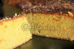 Terapia do Tacho: Bolo de laranja sem farinha e sem manteiga (Flourless and butterless orange cake)