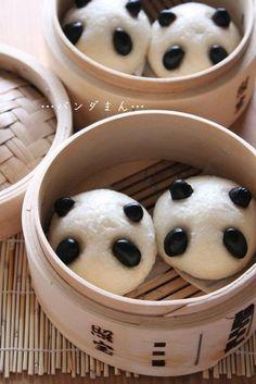 I'm about to endanger those panda buns...