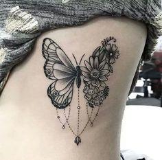 Olá pessoal!!!! Tudo bem com vocês??? Como vocês já devem ter percebido, eu adoro tatuagem - caso não saibam do que eu estou falando clica AQUI e AQUI!!!! E mais uma vez vou trazer uma seleção incrível de tatuagens para vocês!!! Dessa vez falarei somente de tatuagem de borboleta, é isso mesmo, esse símbolo lindo de transformação e feminilidade, que nunca sai de moda e é sempre uma das mais pedidas entre as mulheres. #tatuagem #borboleta #transformação #feminilidade Love Tattoos, Future Tattoos, Body Art Tattoos, Colorful Drawings, Henna, Tattos, Lotus Flower, Coloring, Word Tattoos