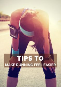 If you find yourself lagging on every run, consider these tweaks to your approach towards running. Combining a couple of these tips will make your next run feel easier and more enjoyable. Tips to Make Running Feel Easier http://www.active.com/running/articles/tips-to-make-running-feel-easier