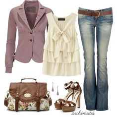 Great smart/casual look for a romantic!