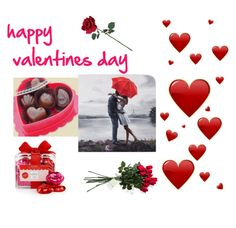 """""""happy valentines day"""" by miadenissebaez ❤ liked on Polyvore featuring art"""