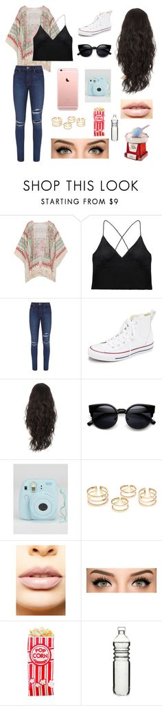 """""""Last Fun You'll Have"""" by kathrynclifford on Polyvore featuring Curriculum Vitae, Paige Denim, Converse, LASplash, Dot & Bo, Nostalgia Electrics, women's clothing, women's fashion, women and female"""