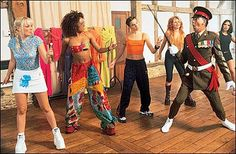 spice girls (first boot camp costumes shown here)