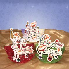 Cute Christmas Double Rocker Premium Card Kit | Hunkydory Crafts