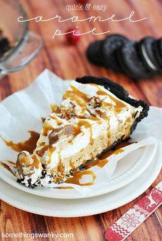 Quick & Easy Caramel Pie